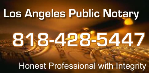 Los Angeles Public Notary